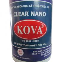 Keo bóng nước nano Kova Clear E3