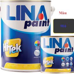 Sơn thơm công nghiệp Lina màu xám đen 904