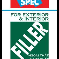 Bột trét tường Spec Filler For Ext & Int