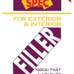 Bột trét tường Spec Filler Hi Quality Putty For Ext & Int