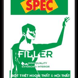 Bột trét tường Spec Filler For Int & Ext