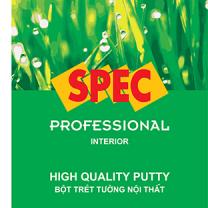 Bột trét tường Spec Pro Putty For Int