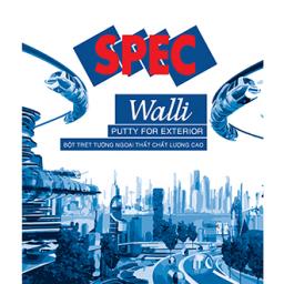 Bột trét tường Spec Walli Putty For Ext