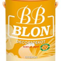 Sơn Boss BB Blon Decoratekot For Ext pha màu