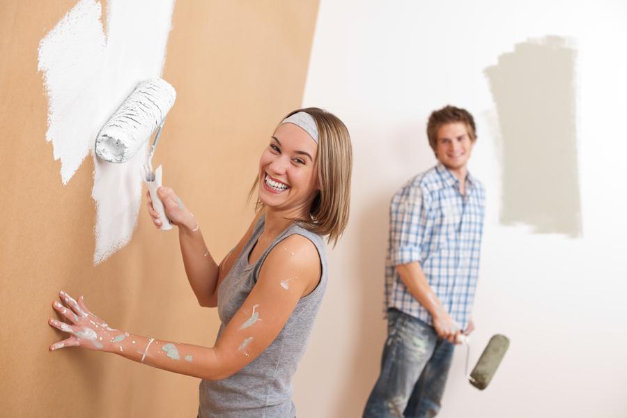 kỹ thuật thi công sơn nhà đẹp