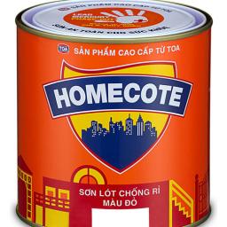 Sơn chống rỉ Toa HomeCote màu đỏ