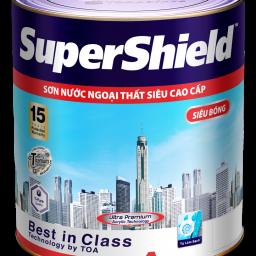 Sơn ngoại thất Toa SuperShield siêu bóng