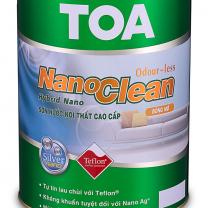 Sơn nội thất Toa Nano Clean bóng mờ