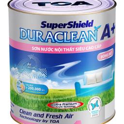 Sơn nội thất Toa SuperShield Duraclean A+ bóng mờ