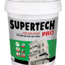 Sơn nội thất Toa SuperTech Pro siêu trắng