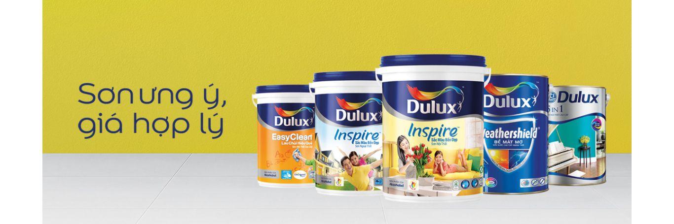 Mua bán sơn chuyên cung cấp sơn Dulux chính hãng
