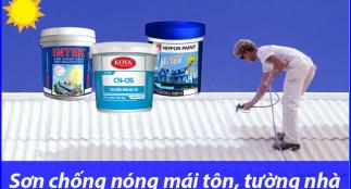 Sơn chống nóng mái tôn, tường có hiệu quả không? Giá bao nhiêu?