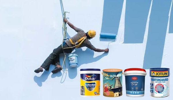 sơn chống thấm ngoài trời