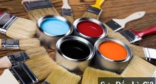 Sơn dầu là gì? Các loại sơn dầu tốt nhất hiện nay? Mua ở đâu?