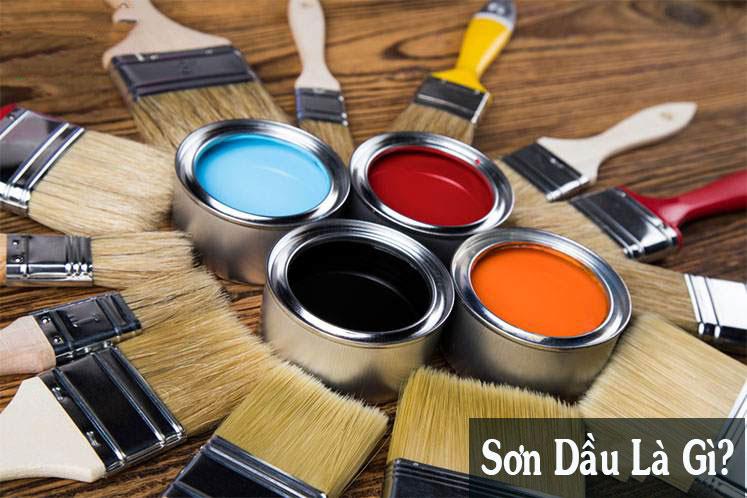 sơn dầu là gì