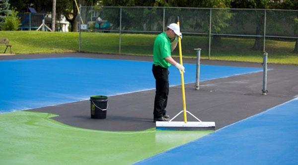 sơn sân tennis là gì