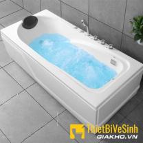 Bồn tắm chất liệu Acrylic massage Navier NV-1302AYMV (không kèm bộ vòi)