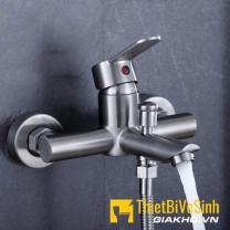 Củ sen nóng lạnh dạng điếu inox304 Navier NV-604