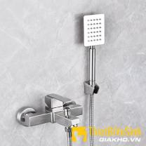 Củ sen nóng lạnh vuông inox304 Navier NV-602